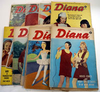 Collection of 23 Diana comics 1966/67