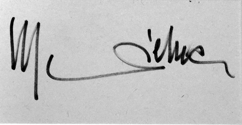 Marlene Dietrich signature (click for bigger picture)