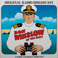 Don Winslow of the Navy - Original Radio Broadcast (vinyl record) by Frank V Martinek