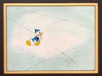 Donald Duck - Animation Cel art by Disney Studios