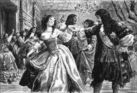 Charles II - The Merry Monarch? art by Cecil Doughty