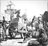The East India Company art by Cecil Doughty