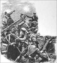 Battle of Inkerman art by Cecil Doughty