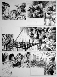 Ivanhoe - Torture art by Cecil Doughty