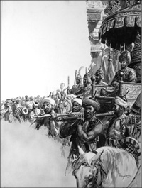 Suleiman the Magnificent art by Cecil Doughty