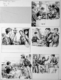 The Fifth Form at St. Dominic's - Test (TWO pages) art by Cecil Doughty