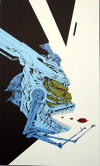 Lausanne Exhibition art by Philippe Druillet