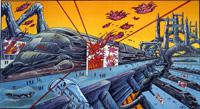 Le Dernier Train art by Philippe Druillet