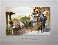 Scenes from Shakespeare - Othello (Print) art by Robert Dudley