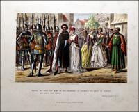 Scenes from Shakespeare - Richard II art by Robert Dudley