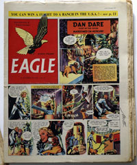 Eagle Complete Year Sets (issues 1 – 52) from 1952 onwards