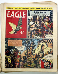 Eagle Volume 10 issues 1 – 45 (1959) FN
