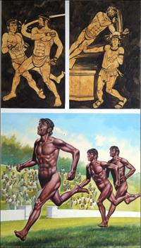 Olympic Glory art by Ron Embleton