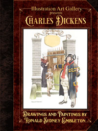 Illustration Art Gallery presents Charles Dickens: Drawings and Paintings by Ron Embleton (Limited Edition)