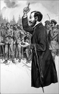 Hero or Traitor - Sir Roger Casement art by Gerry Embleton