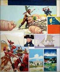 Island Scrapbook - Capera art by Gerry Embleton