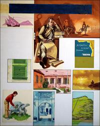 Island Scrapbook - St. Helena art by Gerry Embleton