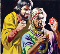 Marco Polo - The Ruby art by Ron Embleton