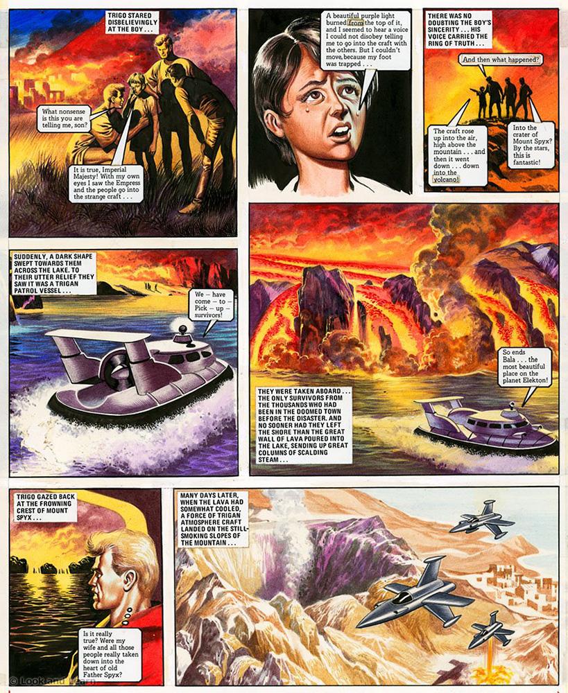 Trigan Comic Printables Of the Trigan Empire Look and ...