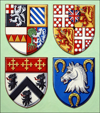 Coats of Arms art by Dan Escott