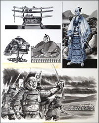 Legacy of the Samurai art by Dan Escott