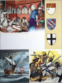 Tales of the Teutonic Knights art by Dan Escott