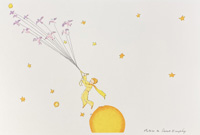 The Little Prince Takes Flight by Antoine de Saint Exupery
