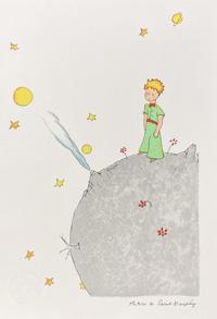 The Little Prince Front Cover Image art by Antoine de Saint Exupery