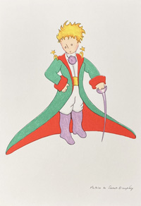 The Little Prince: Portrait by Antoine de Saint Exupery