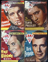 Fans' Star Library #1 - #4 (4 issues; 1958)
