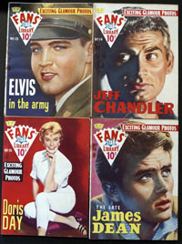 Fans' Star Library #13 - #16 (4 issues, 1959)