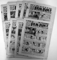 Collection of 9 early Film Fun Comics 1947