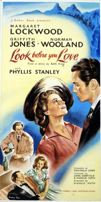 Look Before You Love original film poster artwork by Henry Fox