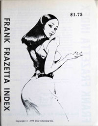 Frank Frazetta Index by Frank Frazetta; Editor Fred Nardelli
