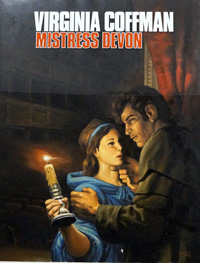 Mistress Devon Book Cover art art by Oliver Frey