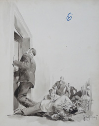 The Hostages Break Free art by Giorgio de Gaspari