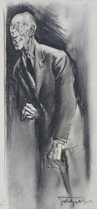 The Intrepid Gentleman art by Giorgio de Gaspari
