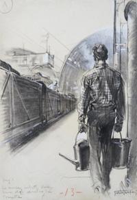 The Prize Cargo art by Giorgio de Gaspari