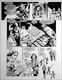 Doctor Who - Final Chapter - Trance Breaker art by Martin Geraghty