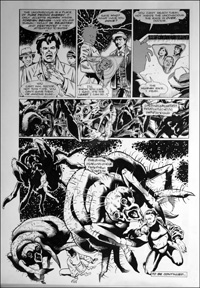 Doctor Who - Ground Zero - Fear art by Martin Geraghty