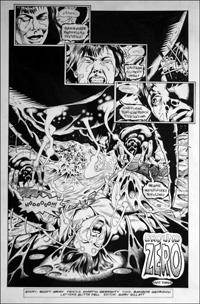 Doctor Who - Ground Zero - Peri Tortured art by Martin Geraghty