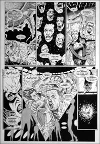 Doctor Who - Ground Zero - Gone Crazy art by Martin Geraghty