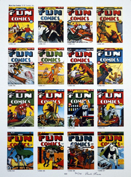 PUBLISHER'S PROOF PAGE: Photo-Journal Guide to Comic Books - More Fun Comics 42 - 57 by (Book written by Ernst Gerber with an introduction by Stan Lee)
