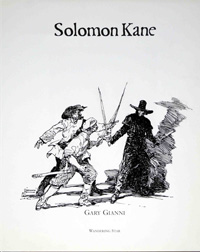 The Solomon Kane Portfolio art by Gary Gianni