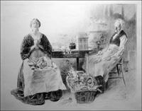 People of Dickens - Original Victorian Portfolio of Six Prints art by Charles Dana Gibson