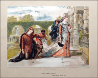 Scenes from Shakespeare - Twelfth Night art by Sir John Gilbert