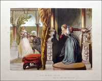 Scenes from Shakespeare - Much Ado About Nothing art by Sir John Gilbert