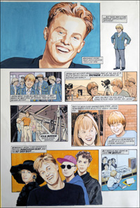 Jason Donovan Story B (TWO pages) art by Maureen & Gordon Gray