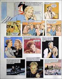 Jason Donovan Story E art by Maureen & Gordon Gray