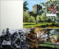 Blarney Castle art by Harry Green